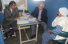 Free Orthopaedic Check-up Camp organised in Delhi