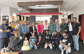 Brisbane, AU: April 22, Manav Ekta Divas and Blood Donation Camp